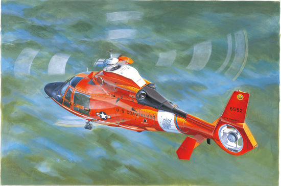 US Coast Guard HH-65C Dolphin Helicopter 05107