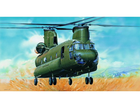 "CH-47D""CHINOOK""     05105"