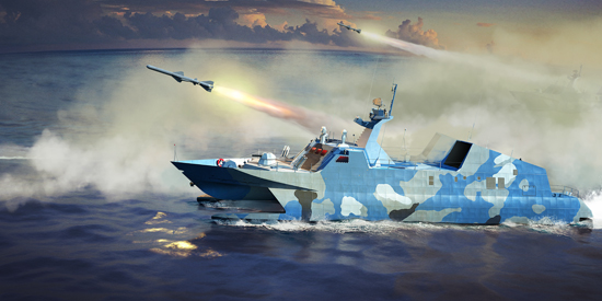 PLAN Type 22 Missile Boat 00108