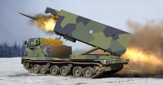 M270/A1 Multiple Launch Rocket System - Finland/Netherlands 01047