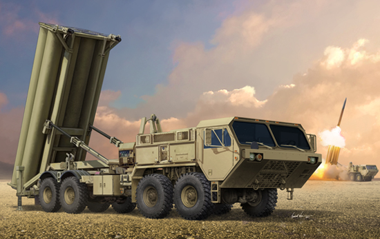 Terminal High Altitude Area Defence (THAAD) 01054