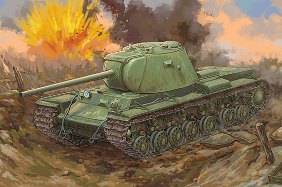 Russian KV-3 Heavy Tank 09544