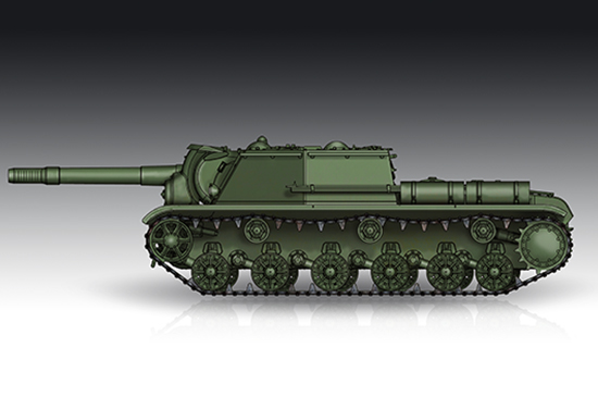 Soviet SU-152 Self-propelled Heavy Howitzer - Late 07130