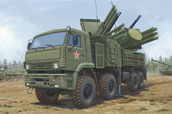 Russian 72V6E4 Combat Vehicle of 96K6 Pantsir -S1 ADMGS 01060