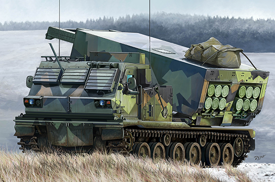 M270/A1 Multiple Launch Rocket System - Norway 01048