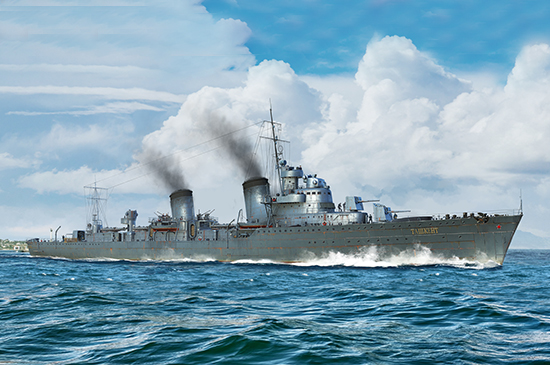 Russian Destroyer Taszkient 1940 05356