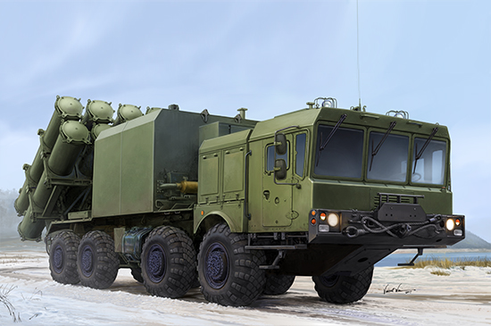 Russian 3S60 launcher of 3K60 BAL/BAL-Elex Coastal Missile Complex 01052