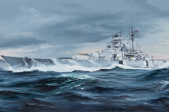 German Bismarck Battleship 05358